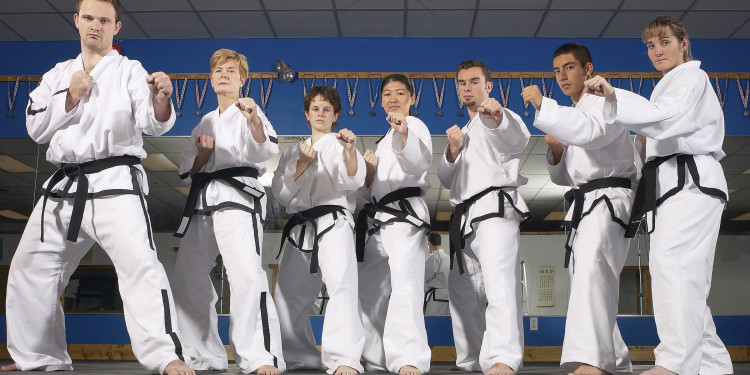 martial arts staff